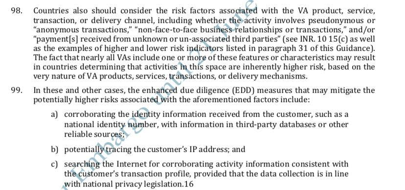 Regulatory Tidal Wave: FATF Issues New Guidance Instructing Exchanges to Collect and Share Sensitive User Information